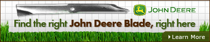 Find the right John Deere Blade, right here
